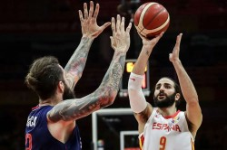 Fiba World Cup 2019 Argentina See Off Serbia Rubio Makes History As Spain Progress