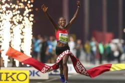 World Athletics Championships Ruth Chepngetich Marathon