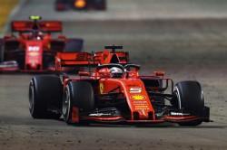 Vettel Ends Wait For Win As Leclerc Fumes Despite Ferrari One Two In Singapore
