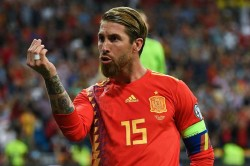 Record Equalling Sergio Ramos Moves Level Iker Casillas Spain Most Capped Player