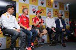 First Edition Of Shell Ducati Riders Day Held At Buddh International Circuit