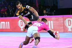 Pro Kabaddi League 2019 Telugu Titans Hammer Jaipur Pink Panthers