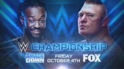 Spoiler On Brock Lesnar Vs Kofi Kingston On Wwe Smackdown Fox Debut