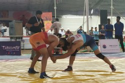 nd Tata Motors U 23 National Wrestling Championship Haryana Wrestlers Shine On Day
