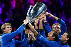 Bjorn Borg Europe Triumph At Laver Cup As Alexander Zverev Clinches Victory Roger Federer Atp