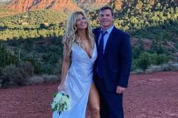 In Pictures Wwe Hall Of Famer Torrie Wilson Gets Marri