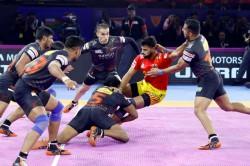 Pkl 2019 All Round U Mumba Ease Past Gujarat Fortunegiants