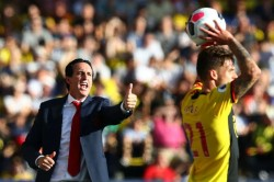 Arsenal Watford Youngsters Will Learn From Collapse Unai Emery