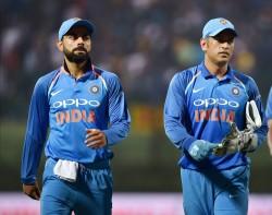 Virat Kohli Reminisces The Match When Ms Dhoni Made Him Run Like A Fitness Test