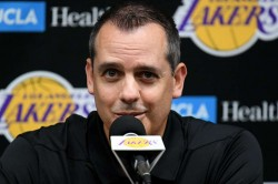 Frank Vogel Stresses Defense In Lakers First Practice Come To La Youre Going To Get Smashed In The Mouth