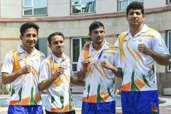 World Championship Medallists Amit Panghal Manish Kaushik Exempted From Senior Boxing Nationals