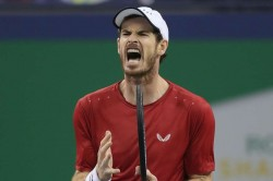 Andy Murray Fabio Fognini Shanghai Masters Hindrance Fiery