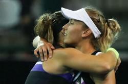 Wta Elite Trophy Aryna Sabalenka Edges Out Elise Mertens