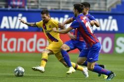 La Liga Barcelona Go Top As Real Madrid Lose To Mallorca Atletico Valencia Wrap