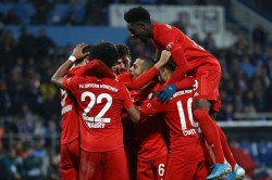 Bochum Bayern Munich Serge Gnabry Thomas Muller Win I