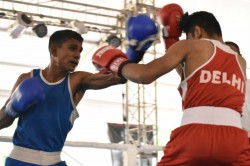 Boxing Nationals Sscb Dominates On Day 4 As Shiva Thapa Siwach Hussamuddin Enter Quarters