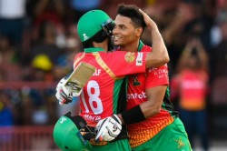 Cpl 2019 Brandon King Century Powers Guyana Amazon Warriors Beat Barbados Tridents