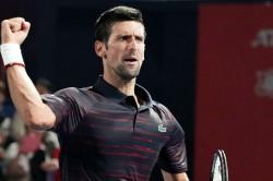 Novak Djokovic Beats Go Soeda Japan Open