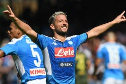 Salzburg 2 3 Napoli Mertens Nets A Double In Entertaining Clash