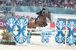 Fouaad Mirza Wins Gold In Cci3s In Poland