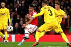 Arsenal 4 0 Standard Liege Martinelli Scores Twice In Routine Europa League Stroll