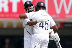 Rohit Completes First Test Double Hundred India Complete Control