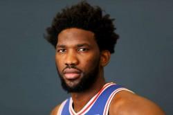 Joel Embiid Nba Mvp Philadelphia 76ers Ben Simmons