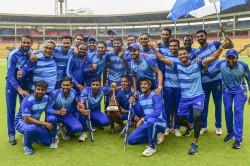 Karnataka Beat Tamil Nadu To Bag Fourth Vijay Hazare Trophy Mithun Shines With Hat Trick