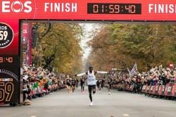 Eliud Kipchoge Kenyan Athlete Makes History By Running Marathon In Under Two Hours