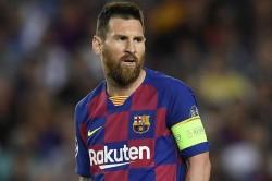 Ernesto Valverde Lionel Messi Barcelona Champions League