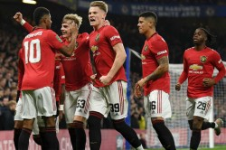 Chelsea 1 2 Manchester United Rashford Fires Red Devils Into Quarter Finals