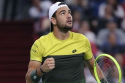 Berrettini Boosts London Atp Finals Hopes In Vienna