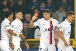 Club Brugge Champions League Report Paris Saint Germain Kylian Mbappe Treble