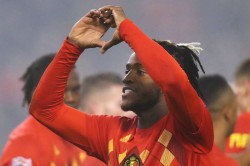 Kazakhstan 0 2 Belgium Batshuayi And Meunier Maintain Perfect Group I Record
