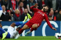 Liverpool Mohamed Salah Injury Hamza Choudhury Challenge Scan