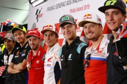 Motogp Riders Ready To Take On Iconic Phillip Island