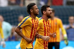 Lionel Messi Neymar Would Join Real Madrid Barcelona Laliga