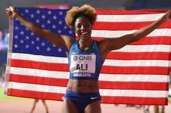 Nia Ali Wins 100m Hurdles Gold World Athletics Championships