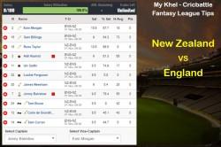 Mykhel Fantasy Tips New Zealand Vs England On November