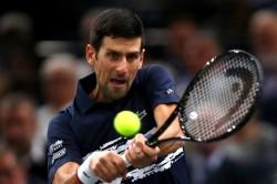 Novak Djokovic Atp Paris Masters Kyle Edmund