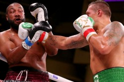 Witherspoon Usyk Heavyweight Debut Tko