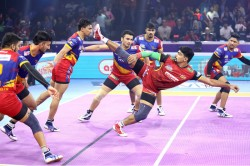 Pro Kabaddi League 2019 Eliminator 1 Bengaluru Bulls Up Yoddha Match Report