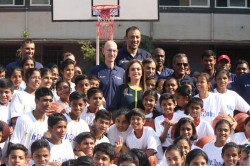 Nba India Games Nita Ambani To Present Ceremonial Match Ball