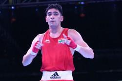 National Boxing Rohit Tokas Stuns Ashish To Enter Semis