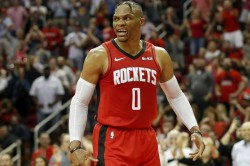 Nba Wrap Russell Westbrook Passes Magic Johnson Second Triple Doubles List