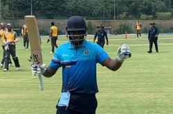 Sanju Samson Slams Double Century 212 Not Out In Alur In Vijay Hazare Trophy
