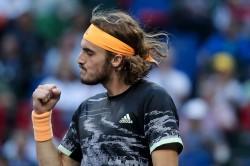 Roger Federer To Face Stefanos Tsitsipas Atp Swiss Indoors Basel Semi Finals