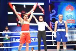 Aiba Women S World Championships Saweety Boora Progresses Neeraj Loses