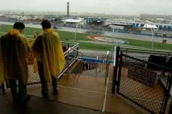 Nascar At Talladega Race Halted By Rain Will Resume Monday