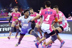 Pro Kabaddi League 2019 Tamil Thalaivas End Winless Streak With Victory Over Jaipur Pink Panthers